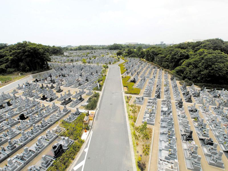 石ヶ谷墓園の写真2