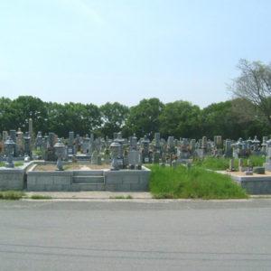 神出南墓地の写真