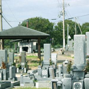 水谷墓地の写真