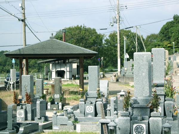 水谷墓地の写真1