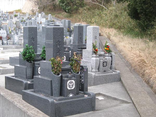 水谷墓地の写真3